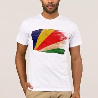 Seychellen-Flaggen-T - Shirt