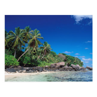Seychellen, Mahe Insel, Anse Royale Strand. 2 Postkarte