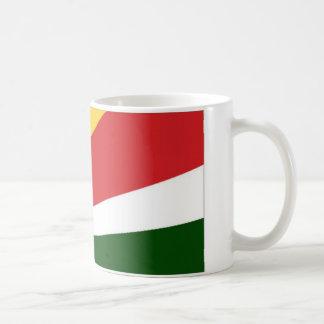 Seychellen-Staatsflagge Kaffeetasse