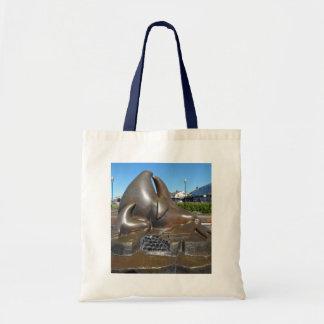 SF Wächter der Tor-Skulptur-Taschen-Tasche Tragetasche