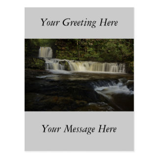 Sgwd Ddwli Wasserfall Postkarte
