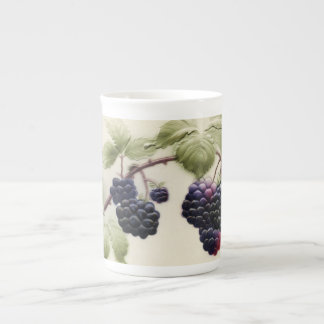 Shab-tastic Vintage BlackBerry-Knochen-China-Tasse Prozellantasse
