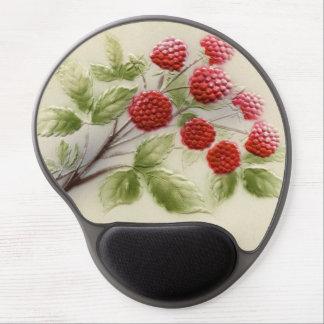 Shab-tastic Vintage Himbeergel-Mausunterlage Gel Mousepad
