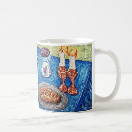 """""""Shabbat Shalom """" Kaffeetasse"""
