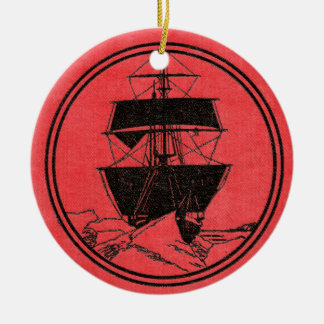 Shackletons Nimrod-Bucheinband-Weihnachten Keramik Ornament
