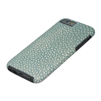 Shagreen Aqua Seafoam Grün Tough iPhone 6 Hülle