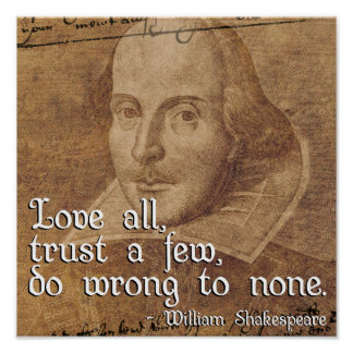 shakespeare liebe zitate poster. Black Bedroom Furniture Sets. Home Design Ideas