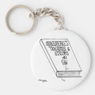 Shakespeares Tragödien und Sitcome Schlüsselanhänger
