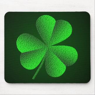 Shamrock Mousepad de l'Irlande Tapis De Souris