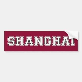 Shanghai Autoaufkleber
