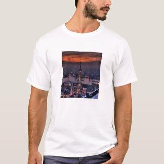 Shanghai-China-Stadt der Lichter T-Shirt