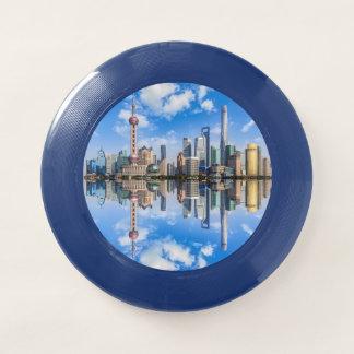 Shanghai-Ufergegend Frisbee