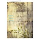 Shanti (Frieden) Buddha Karte