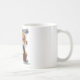 Shaolin Drache-Mönch Kaffeetasse