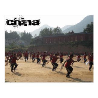 Shaolin Temple Postkarte