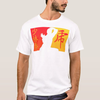 Shaolin Tiger (auf Weiß) T-Shirt