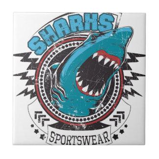 Shark Kleine Quadratische Fliese