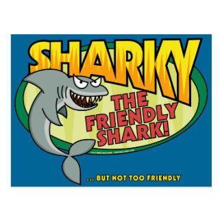 Sharky Postkarte