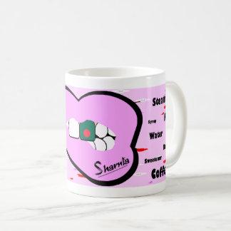 Sharnias Lippenbangladesch-Tasse (LT PINK Lippe) Kaffeetasse