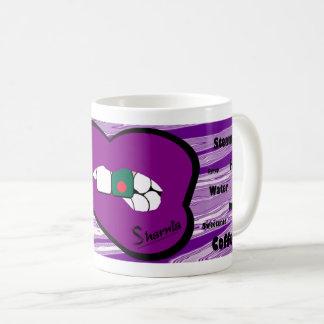Sharnias Lippenbangladesch-Tasse (PUR Lippe) Kaffeetasse