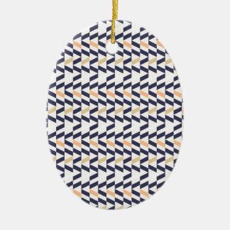 Shaun Biondo Entwürfe Ovales Keramik Ornament