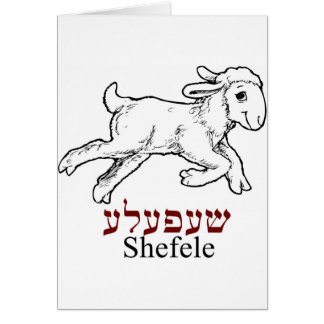Shefeleh-kleines Lamm Karte