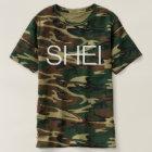 SHEI Logo (Camouflage) T-shirt