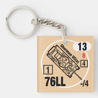 Sherman VC (A) Leuchtkäfer Keychain Fob Schlüsselanhänger