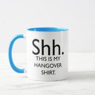 Shh. Dieses ist mein Kater-Shirt Tasse
