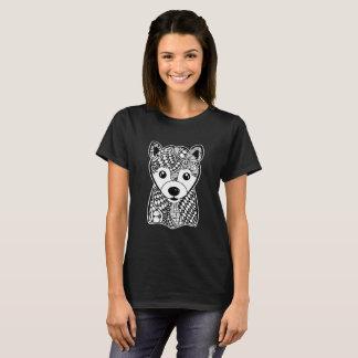 Shiba Inu stellen grafische Kunst-T - Shirt