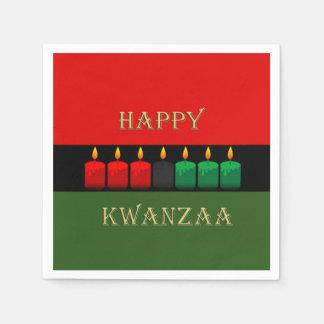Shine-hell Kwanzaa-Party-Papierservietten Servietten