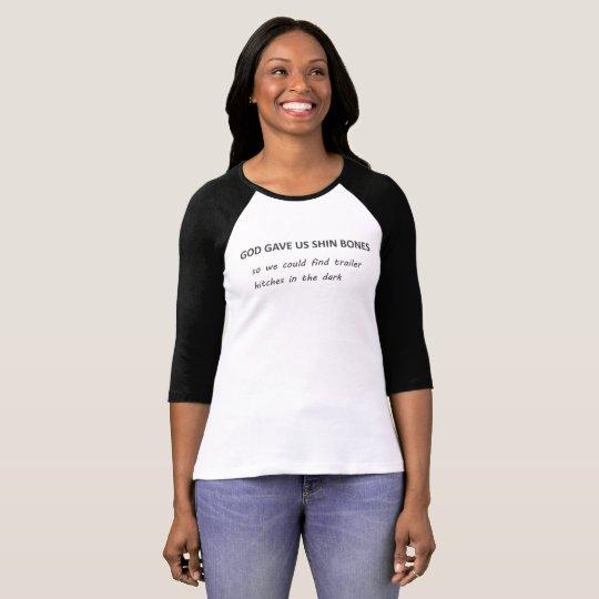 Shinknochen u. -Anhängerkupplungen T-Shirt