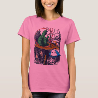 Shirt: Alice im Wunderland - Raupe T-Shirt