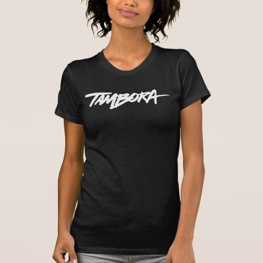 Shirt das TAMBORA der Frauen - Schwarzes/Weiß