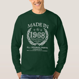 Shirt der gemachten im Jahre 1968 lustigen das 60.
