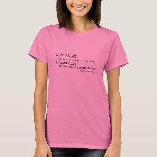 Shirt-Geschenkideen der Inspirational langen T-Shirt