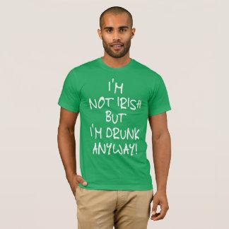 Shirt-Grün Im St. Patricks Tagesbetrunken T-Shirt