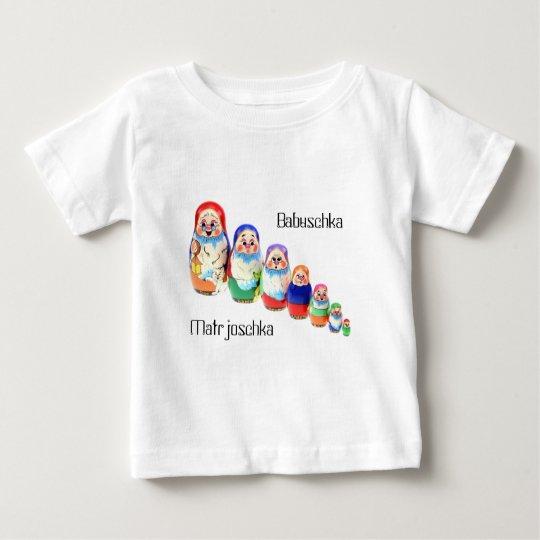Shirt Matrjoschka, Matryoshka, Babuschka