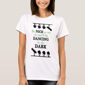 Shirt: Seien Sie Nizza, oder Sie werden in die T-Shirt