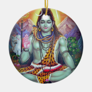 Shiva Keramik Ornament