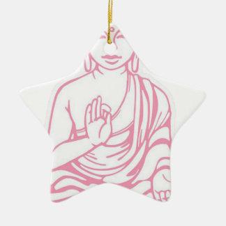 Shiva ließ es gehen keramik Stern-Ornament