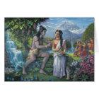 Shiva und Parvati - das All-Günstige Paar Karte