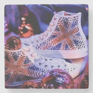 Shoes Merry Christmas_coaster Steinuntersetzer
