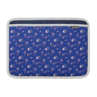Shooting Stars und Kometen-Blau-Hülse Sleeve Fürs MacBook Air