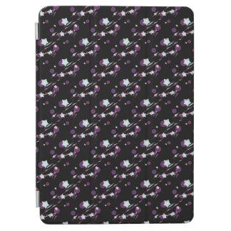 Shooting Stars und Kometen-schwarze iPad Air Hülle