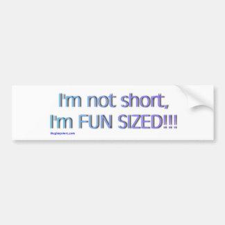short_funsize autoaufkleber
