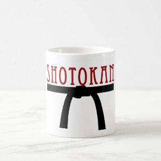 Shotokan schwarzer Gurt-Tasse