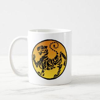 Shotokan Tiger - Gold Kaffeetasse