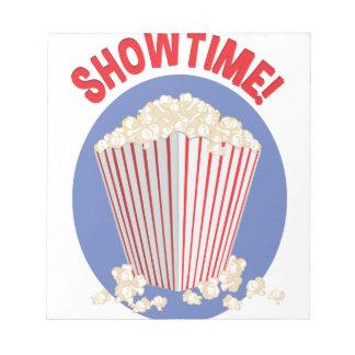 Showtime Notizblock