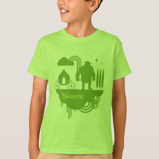 Shrek feenhafte Geschichten-Silhouette T-Shirt